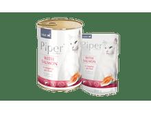 Aliment humit Piper salmó