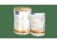 Aliment humit Piper pollastre