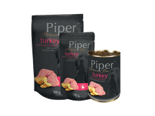 Aliment humit Piper Platinum Pure gall dindi amb patates