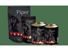Aliment humit Piper fetge de vedella amb papates llauna