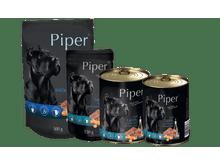 Aliment humit Piper xai, pastanaga i arròs marró llauna