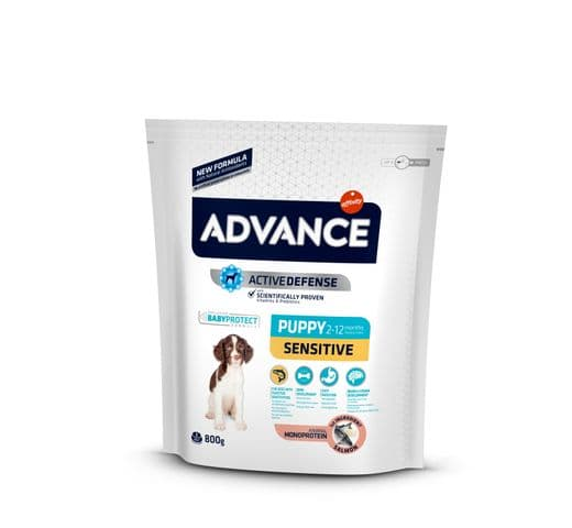 Pinso Advance Affinity gos puppy sensitive 800gr 1
