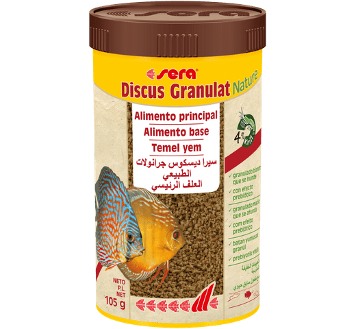 Pinso Sera Discs granulat nature 250ml - 105gr 1
