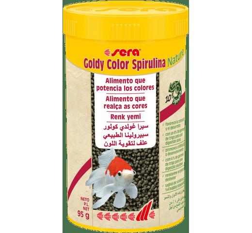 Pinso Sera Goldy color spirulina 250ml - 95gr 1