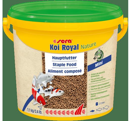Pinso Sera Koi royal nature mini 3800ml - 1,1kg 1