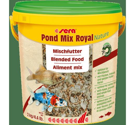 Pinso Sera Estany pond mix royal nature 10L - 2kg 1