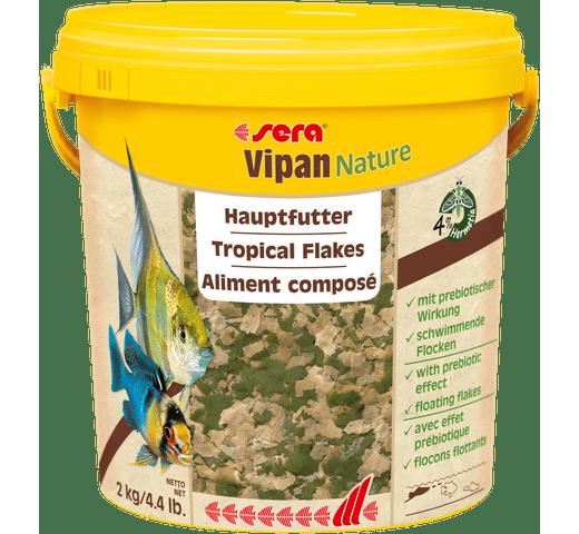 Pinso Sera Vipan nature flakes 10L - 2kg 1
