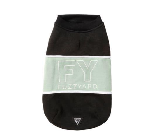 Dessuadores Fuzzyard track sweater black/sage 2