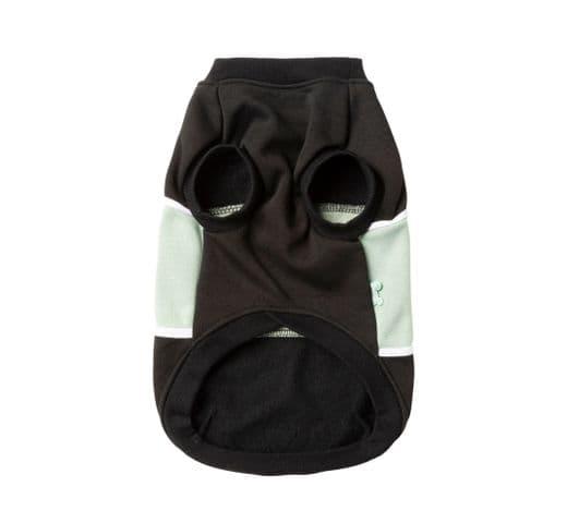 Dessuadores Fuzzyard track sweater black/sage 3