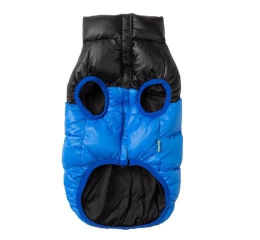 Abric Fuzzyard harlem puffer jacket blue 3