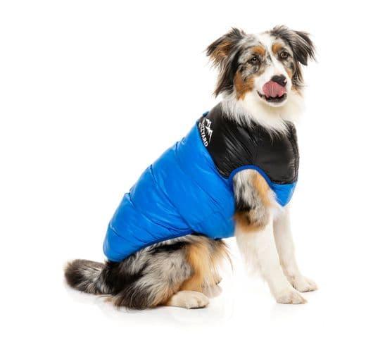 Abric Fuzzyard harlem puffer jacket blue 4