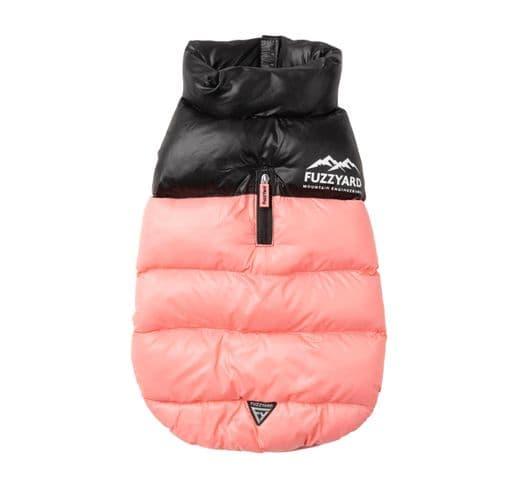 Abric Fuzzyard harlem puffer jacket pink 2