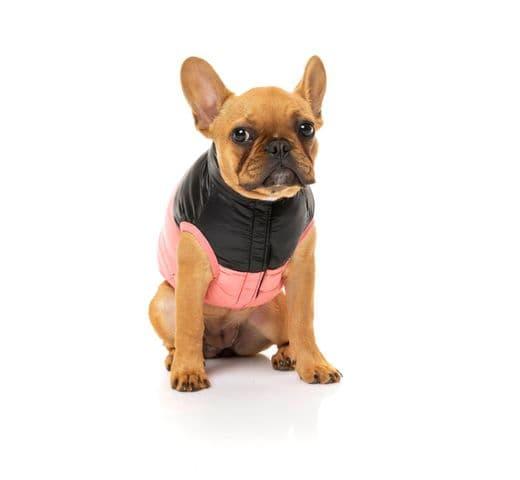 Abric Fuzzyard harlem puffer jacket pink 4