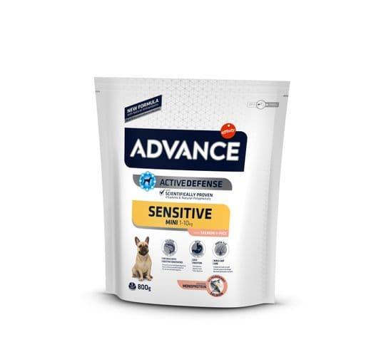 Pinso Advance Affinity gos sensitive mini 800gr 1