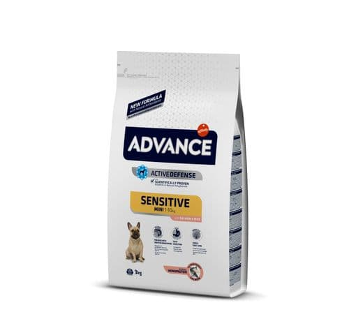 Pinso Advance Affinity gos sensitive mini 3kg 1