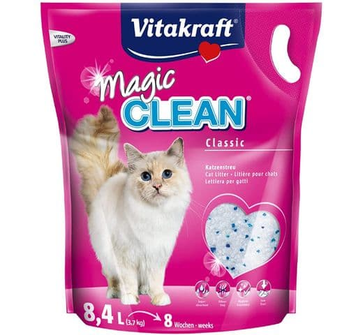 Sorra Vitakraft sílice magic clean 3,7kg 1