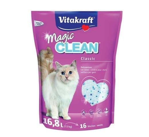Sorra Vitakraft sílice magic clean 7,5kg 1