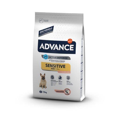 Pinso Advance Affinity gos sensitive mini 7,5kg 1