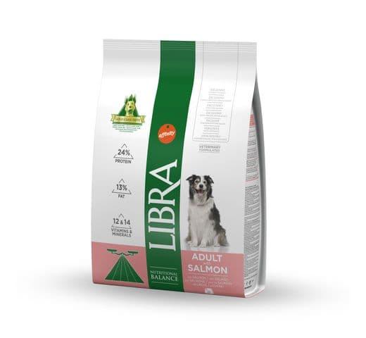 Pinso Libra Affinity gos salmó 3kg 1