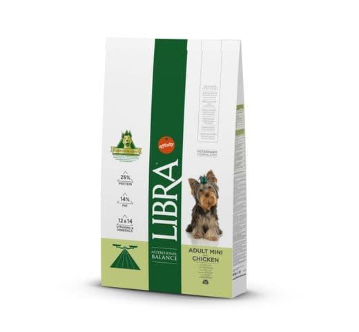 Pinso Libra Affinity gos mini pollastre 8kg 1