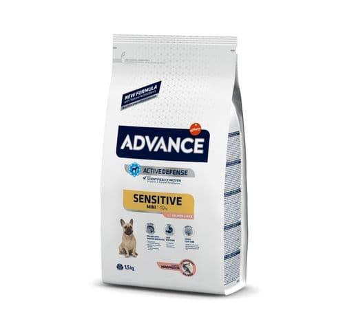 Pinso Advance Affinity gos sensitive mini 1,5kg 1