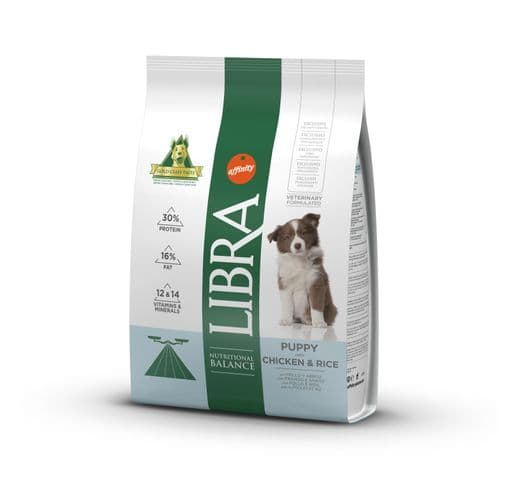 Pinso Libra Affinity gos puppy 3kg 1