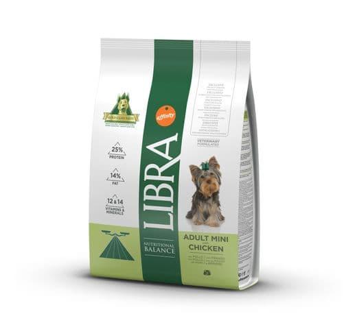Pinso Libra Affinity gos mini pollastre 3kg 1