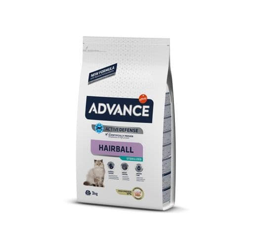 Pinso Advance Affinity gat sterilized hairball 3kg 1