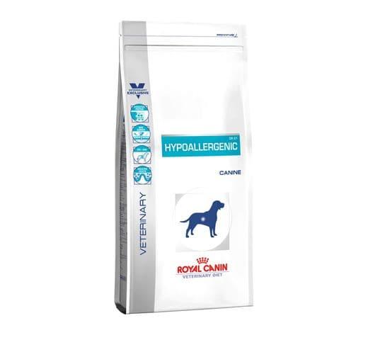 Pinso de dieta veterinària Royal Canin gos hypoallergenic 2kg 1