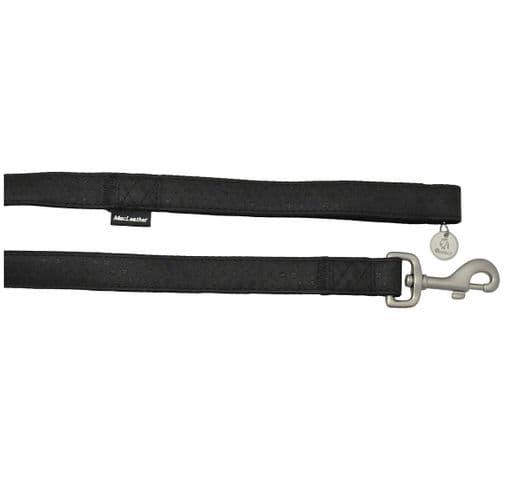 Corretja Mac Leather negre 10mmx120cm 1