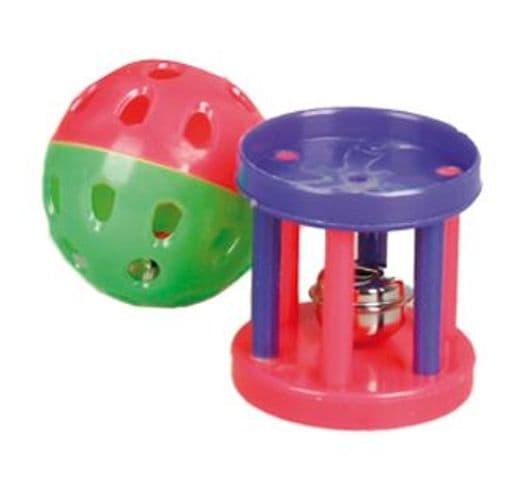 Altres joguines Flamingo pilota + rodet transparent en tub 1