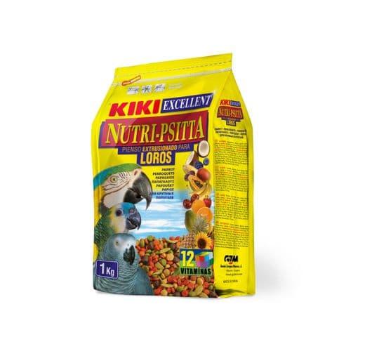 Pinso Kiki nutri-psitta lloros 1kg 1