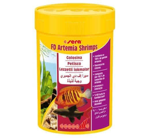 Pinso Sera FD Artemia Shrimps 100ml - 7gr 1