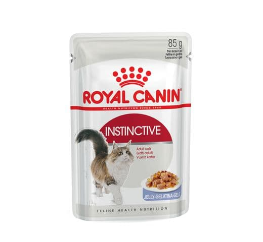 Aliment humit Royal Canin gat instinctive gelatina sobre 85gr 1