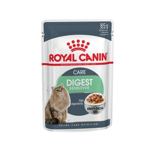 Aliment humit Royal Canin gat digestion sensitive salsa sobre 85gr 1