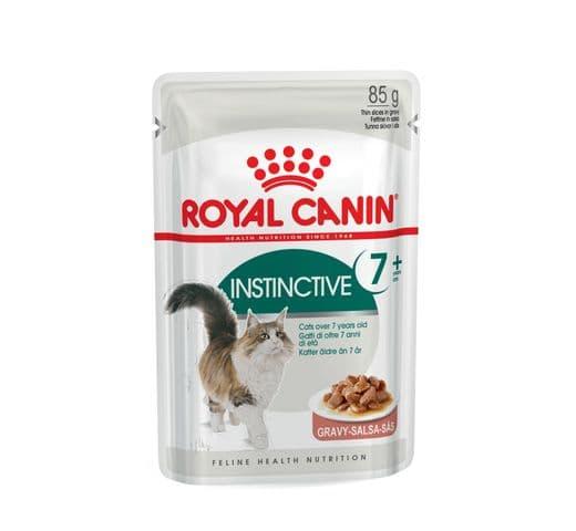 Aliment humit Royal Canin gat instinctive +7 salsa sobre 85gr 1
