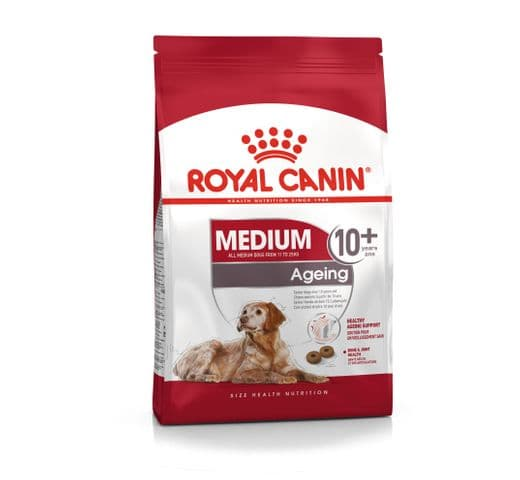 Pinso Royal Canin gos medium ageing +10 1