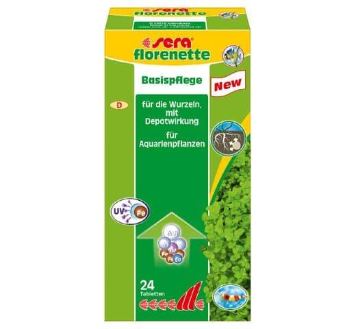 Control de l'aigua Sera Florenette-A 24 tabetes adob 1