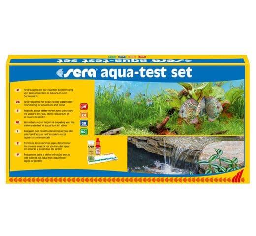 Control de l'aigua Sera Aqua-test set 1