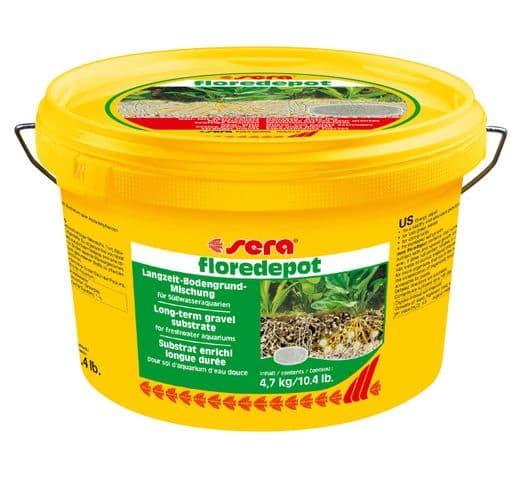 Control de l'aigua Sera Floredepot 4,7kg adob 1