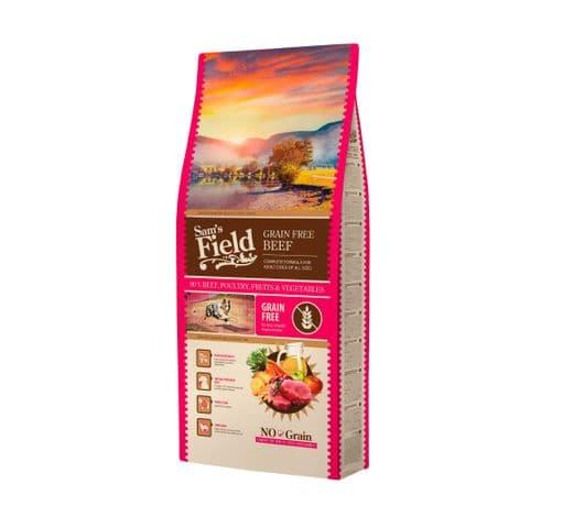 Pinso Sams Field gos adult grain free vedella 13kg 1