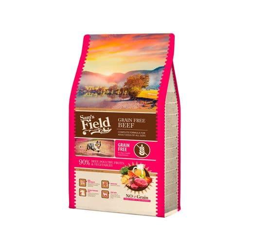 Pinso Sams Field gos adult grain free vedella 2,5kg 1