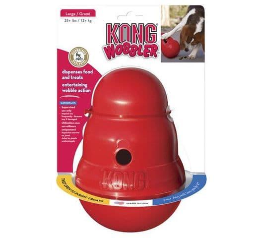 Joguina de goma Kong wobbler S 1