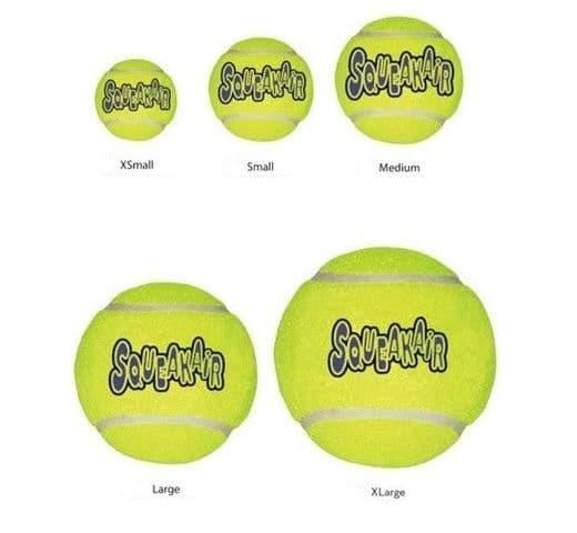 Joguina tenis Kong air tennis ball S (3ut) 1