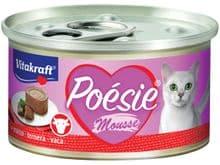 Aliment humit Vitakraft gat poesie mousse vedella llauna 85gr