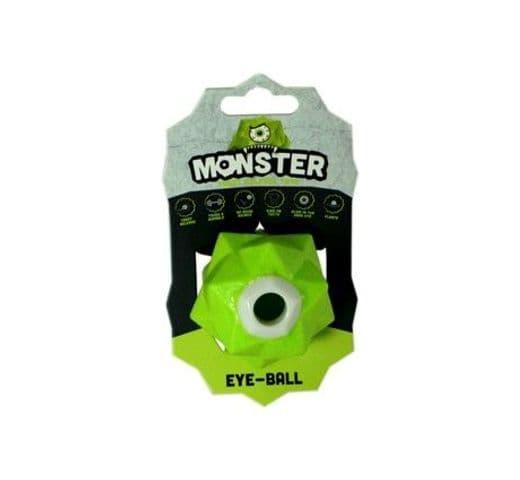 Joguina de goma Monster Pilota monster eye verda 1