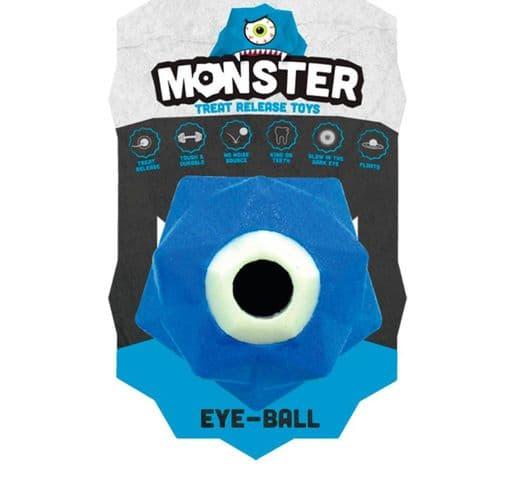 Joguina de goma Monster Pilota monster eye blau 1