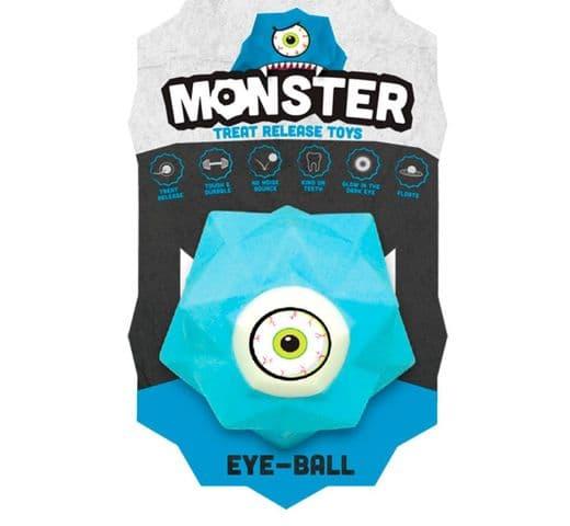 Joguina de goma Monster Pilota monster eye mini blau 1