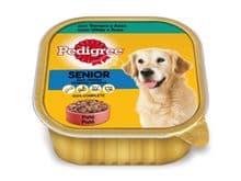 Aliment humit Pedigree gos tarrina sènior 300gr