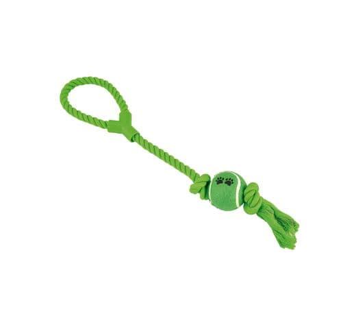 Joguina de corda Nayeco dental amb pilota i nansa 50cm 1